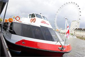 City Cruises millenium london boat