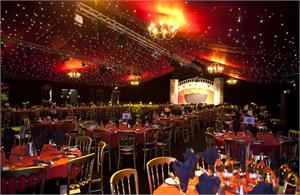 The grand marquee masquerade ball old trafford manchester